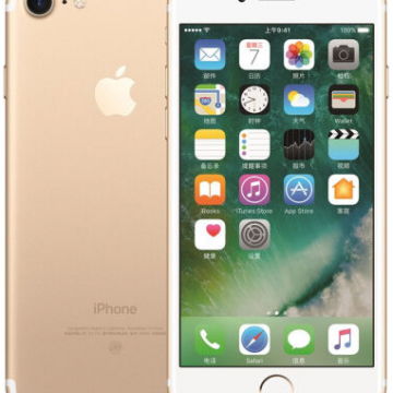 iPhone7 128G金、